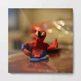 pongo spider-man Metal Print
