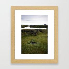 Mývatn, Iceland Framed Art Print