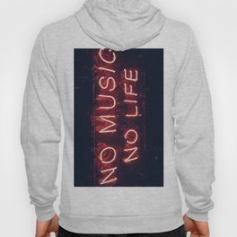 No Music No life Hoody