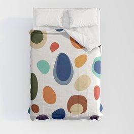 Terrazzo Abstract Pattern Comforters