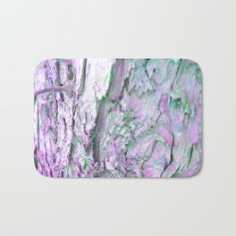 Purple Tree Bark Bath Mat