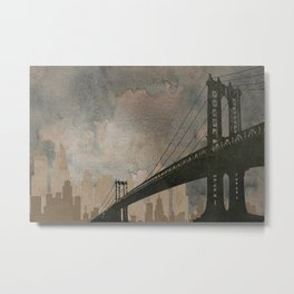Bridging Gaps Metal Print