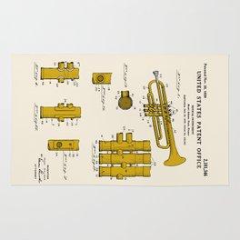 Trumpet Patent Rug