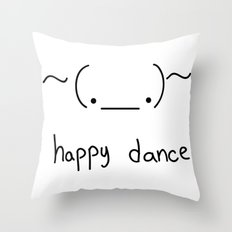 Happy Dance Throw Pillow