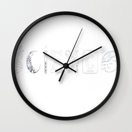 SCIENCE - Coexist Wall Clock