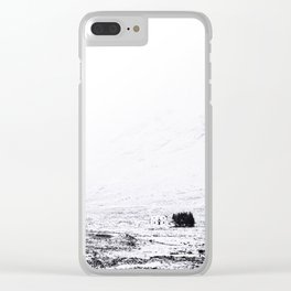 winter home Clear iPhone Case