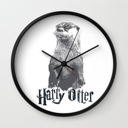 Harry Otter Wall Clock