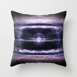Galactic guts Throw Pillow
