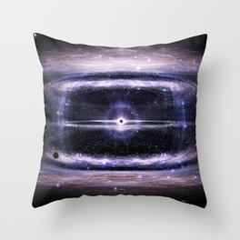 Galactic guts Throw Pillow