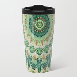 Luna Moth Kaleidoscope Travel Mug