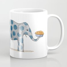 polka dot elephants serving us pie Mug