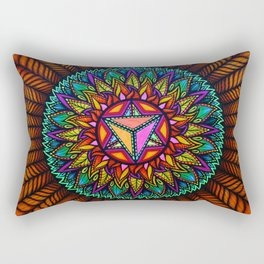 Forest Star Rectangular Pillow