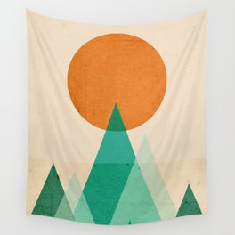 No mountains high enough Wall Tapestry