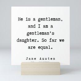 39    | Jane Austen Quotes | 190722 Mini Art Print