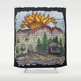 New Sunrise Shower Curtain