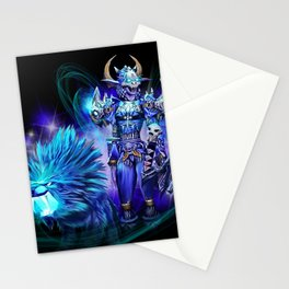 Night Elf Hunter Stationery Cards