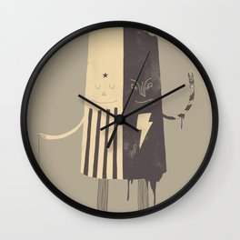 Non-Identical Twins Wall Clock