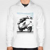 racing Hoodies featuring Racing by Don Paris Schlotman