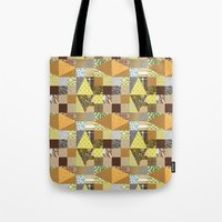 quilt Tote Bags featuring quilt by notbook
