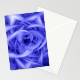 Blue Flames Stationery Cards