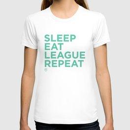 Eat League Sleep Repeat T-shirt