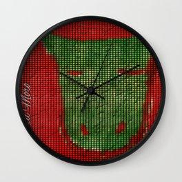Pixal Dragon Wall Clock
