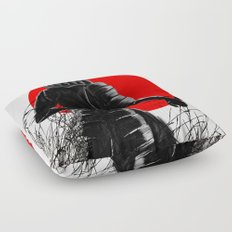 The way of warrior Floor Pillow