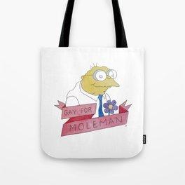 Moleman Tote Bag