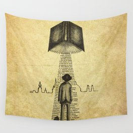 Take Me To Your Reader Wall Tapestry