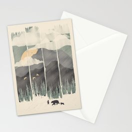 Spring Mountain Weather Stationery Cards