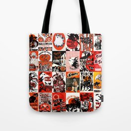 Halloween : Trick Or Treat, Smell My Feet, Gimmie Something Good To Eat. Tote Bag
