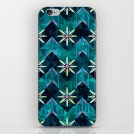 Biarritz Chevron Green iPhone Skin