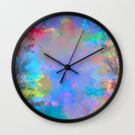 astray and fade Wall Clock