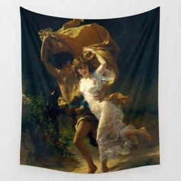 """Pierre Auguste Cot """"The Storm (La Tempête)"""" Wall Tapestry"""