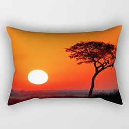 African morning I Rectangular Pillow