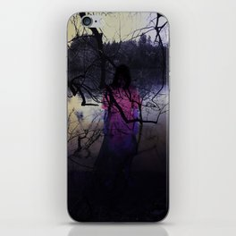 What Happened In The Woods iPhone Skin