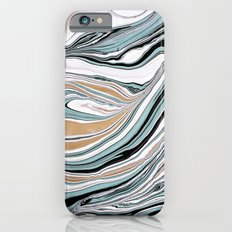 Teal Scape iPhone 6s Slim Case