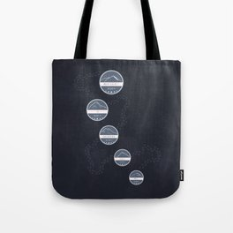 Highest Mountains on Earth Tote Bag
