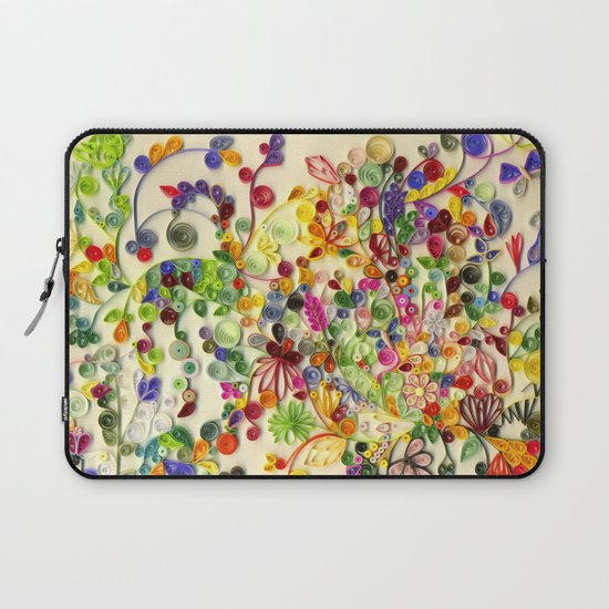 My little garden Laptop Sleeve