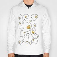 egg Hoodies featuring Egg  by Kimberly Bones