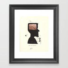 max mustermann or John Smith... Framed Art Print