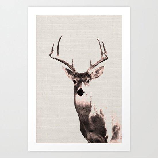 Deer Art 1 Art Print