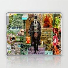 dandy with brain braguette Laptop & iPad Skin