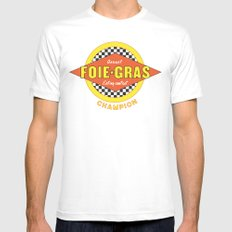 Foie Gras (Extravagant Eating Competitions) Mens Fitted Tee White MEDIUM