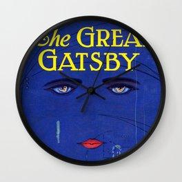 Great Gatsby - Scott F. Fitzgerald Wall Clock