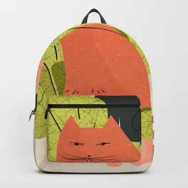 Cats And Books Backpack