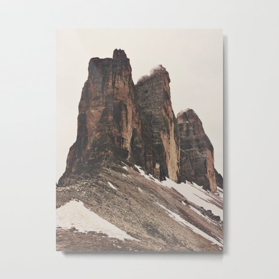 Three Rocks Metal Print
