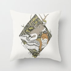 Nostalgia IV Throw Pillow