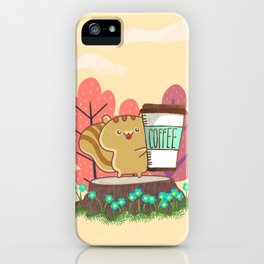 The Quest For A Perfect Cup Of Coffee iPhone Case