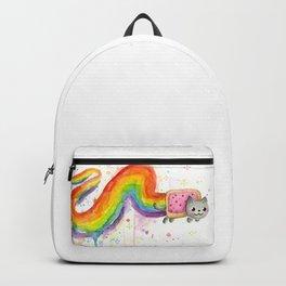 Rainbow Cat in Pop Tart Backpack